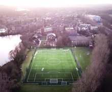 3g pitch and school